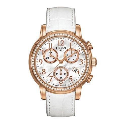 Tissot Femme Montre bracelet almendres Sport Cuir T0502173611201