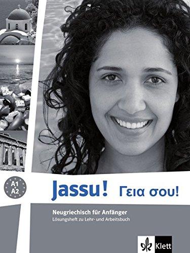 Preisvergleich Produktbild Jassu!: Neugriechisch für Anfänger. Lösungsheft