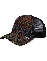 Djinns Cap HFT Rainbow Mesh Black