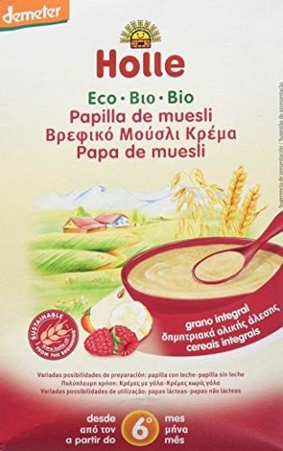 Holle Papilla de Muesli + 6 meses - 250 gr