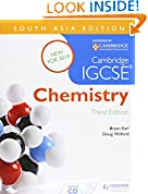 #9: Cambridge IGCSE Chemistry 3rd Edition plus CD South Asia Edition