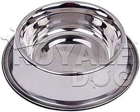 Royale Dog Anti Skid Non Tip Dog Bowl-2800 ML 1 Piece