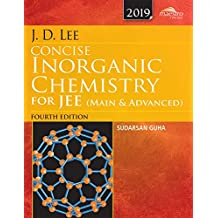 Wiley's J.D. Lee Concise Inorganic Chemistry for JEE (Main & Advanced), 4ed, 2019