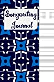 Songwriting Journal: Lyrics Notebook , Cornell Notes and Staff Paper with room for Guitar Chords, Lyrics and Music. Songwriting Journal for Musicians, Students , Lyricists. Optical 8th Notes