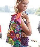 Tasche selber häkeln und stricken! Häkelset Sommertasche mit Baumwolle und Häkelanleitung - Häkelpaket für Blütentasche - Strickset mit Anleitung und Wolle - Strickpackung Tasche - Häkelpackung zum Tasche selbst häkeln von MyOma