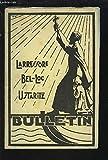 LARRESSORE / BEL-LOC / USTARITZ - BULLETIN DE L'ASSOCIATION DES ANCIENS ELEVES 1965.
