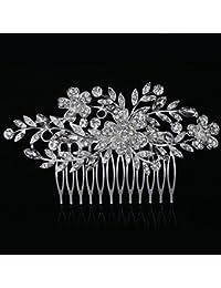 Peineta de Dooppa con diamantes de imitación para mujer