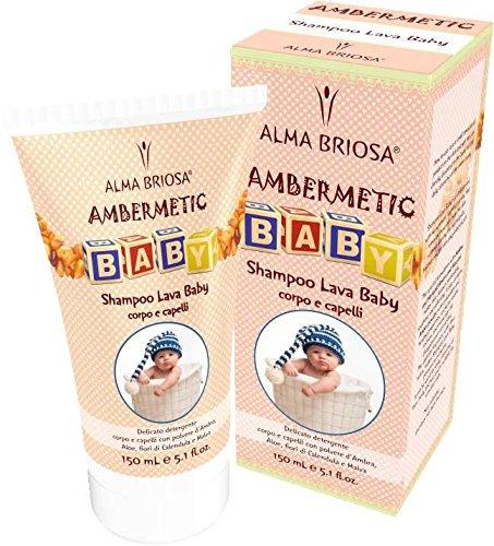 Estee Körper Pulver (BIOLU - Baby Shampoo - Bio - Extra süß und zart für Kinder - Mit Kamille und Reisproteinen - Ideal für brüchiges Haar - Nickel getestet - Vegan - 300ml)