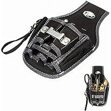 Mohoo 9 in 1 Supporto Elettricista Kit cintura strumento strumenti tascabili cacciavite vita Utility