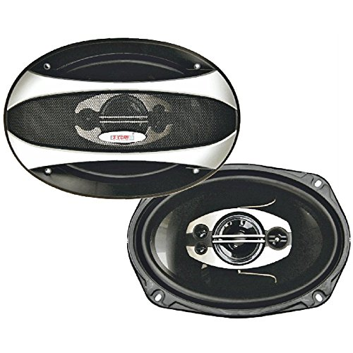 "5 Core 69-93-PARALLEL 6""x9"" (16x24cm) 2 Way High Performance Car Speaker (Pair)"