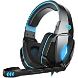 Cosmic Byte Over the Ear Headsets with Mic & LED - G4000 Edition (Blue)