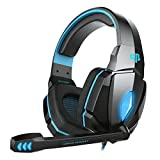 #2: Cosmic Byte Over the Ear Headsets with Mic & LED - G4000 Edition (Blue)
