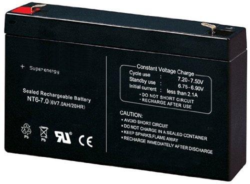 Universal 6V7Ah 6V 7Ah Akku Batterie für Kinderfahrzeuge