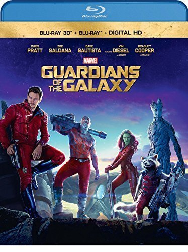 Guardians of the Galaxy (3D Blu-ray + Blu-ray + Digital Copy) by Walt Disney Studios Home Entertainment by James Gunn