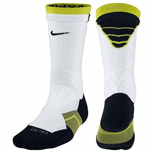 Nike Dri-Fit 2.0Vapor Elite Crew Fußball Socken, weiß (Nike Socks Fußball-elite)