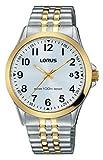 Lorus Watches Reloj Unisex de Analogico con Correa en Chapado en Acero Inoxidable RS972CX9