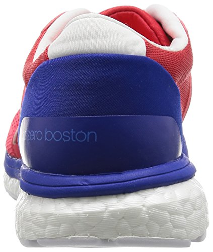 adidas Adizero Boston 6, Scarpe da Corsa Uomo Rosso (Ray Red /ray Red /bold Blue)