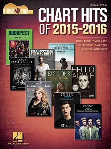 Hal Leonard Corp.\'s Chart Hits of 2015-2016 - Strum & Sing Guitar ...