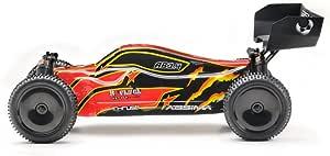Absima Hot Shot Absima 1 10 Rc Modellauto Ab3 4 Buggy Mit Brushed Elektroantrieb 2 4 Ghz Fernsteuerung Und Allradantrieb Rtr Inkl Akku Und Ladegerät Rot Schwarz Spielzeug