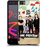 Official One Direction I Heart Doodle Solo Posters Soft Gel Case for BQ Aquaris M4.5