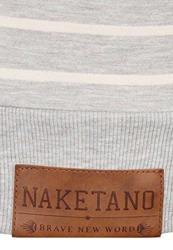 Naketano Female Hoody Rap Magelan Stone Grey Melange