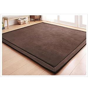 Loartee Teppich, Korallen-Samt, für Schlafzimmer, Wohnzimmer, Kinder, Arbeitszimmer, Küche, Kinderzimmer, Krabbeln, Wandern, Spiele, Yoga, Gymnastik, Nickerchen