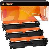 Cartridges Kingdom 3-er Pack Toner kompatibel zu HP CF217A 17A (mit CHIP) für HP Laserjet Pro MFP M130nw M130fn M130fw M130a M102a M102w