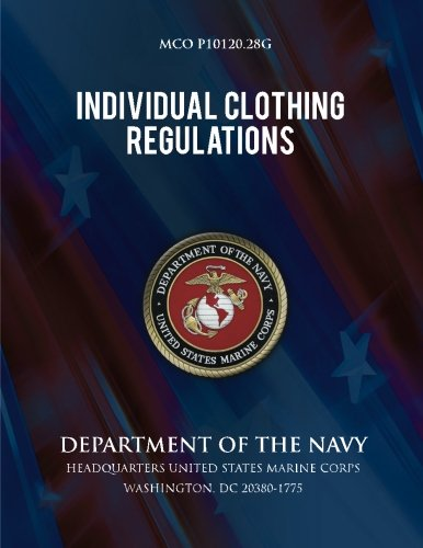Individual Clothing Regulations: Department of the Navy por Department of the Navy