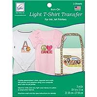Light T-Shirt Inkjet Transfers-8-1/2