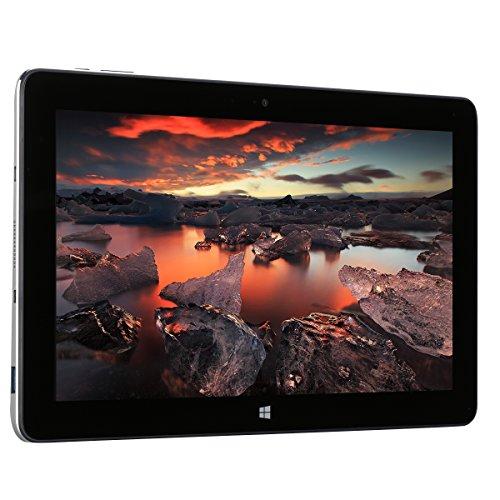 "Jumper EZpad 6 M6 Intel Cherry Trail x5-Z8350 Quad Core 10.8"" Display 1366*768, Windows 10 OS, 2MP Singolo Fotocamera, Supporto HDMI OTG WiFi Tablet PC G-sensor, Bluetooth 4.0, Battreia 6000mAh, Argento"