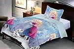 Uber Urban Disney Frozen 100% Microfiber single bedsheet with 1 pillow cover.