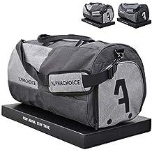 969667e0ea040 Alphachoice Sporttasche mit Schuhfach 43L für Herren   Damen
