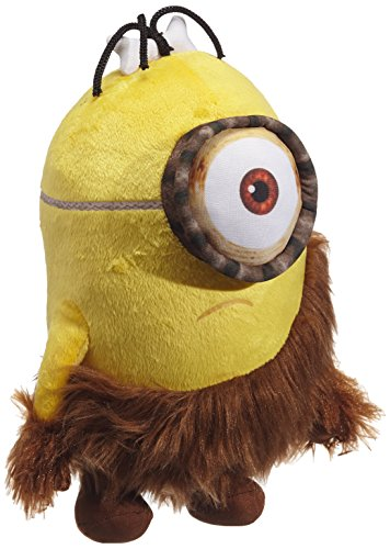 "Minions Caveman Plush (Stuart and Kevin Set) - Despicable Me - 30cm 12"" and 34cm 13"""
