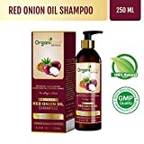 Organicure Red Onion Oil Shampoo, 250 ml, For Hair Re-Growth, With Herbal Extracts