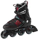 K2 Inline-Skates FREEDOM M 1 Black-Red 12,5