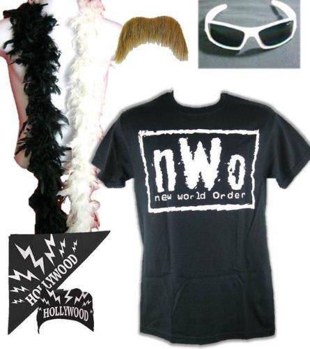 Kostüm Hulk Hogan nWo Hollywood Retro Bis 5XL !, Gr.:XL