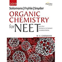 Wiley's Solomons, Fryhle, Synder Organic Chemistry for NEET and other Medical Entrance Examinations, 2019