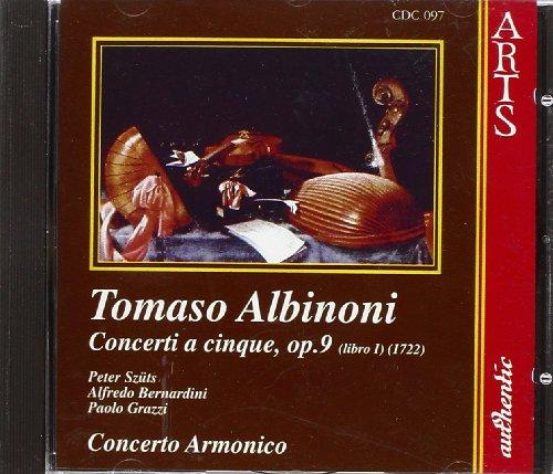 Preisvergleich Produktbild Albinoni:Concerti, Op 9 / 1-6