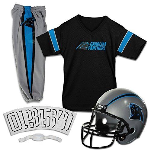 Franklin Sport Ragazzi NFL Panthers uniforme costume, Black,Blue, S