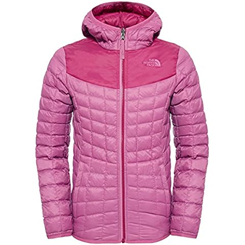 North Face G REVERSIBLE THERMOBALL HOODIE - Sudadera, color morado, talla S