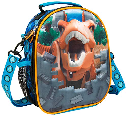 d532124ee42a Lego Movie 2 Jurassic World Kids Dinosaur Lunch Bag With Insulated Lining |  Childrens Lunch Bag For School Packed Lunches Or Day Out | Official Lego ...