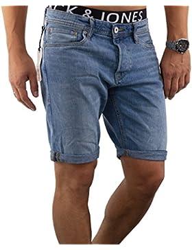 JACK & JONES Herren Short jjiRICK 113/114/312 Jeansshort kurze Hose Regular Fit