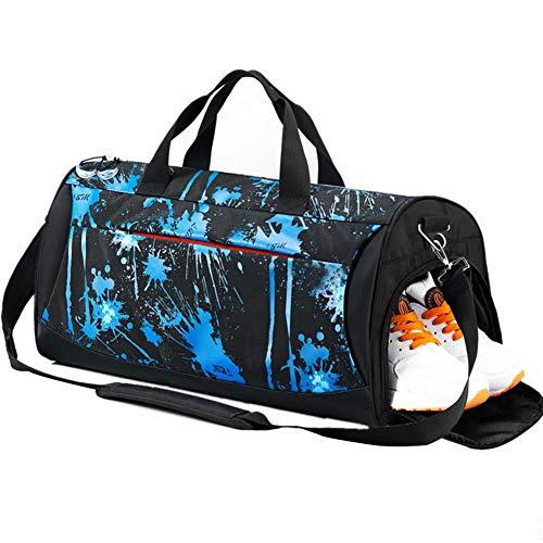 heresell Fitness-Sport-Tasche Neue Mode-Multifunktions-große Kapazität Abriebfeste haltbare Fitness-Yoga-Tasche für Outdoor-Sport und Fitness