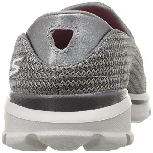 Skechers GO Walk 3, Sneakers basses femme CHAR