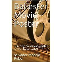Ballester Movie Poster: 366 original movie poster of the italian artist