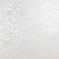Tapestry Bright White Applique Floral Embossed A4 Pearlescent Floral Card Stunning Vintage Design Slight Sparkle Effect 300gsm 10 Pack