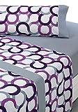 SABANALIA - Juego de sábanas Estampadas Aros (Disponible en Varios...