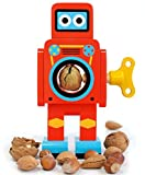 SUCK UK Robot Nut Cracker, Small Red