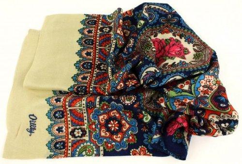 oilily-schal-scarf-ovation-zu-oilily-travel-blau-sand-mit-rosen