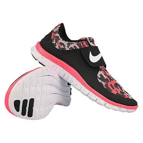 Nike Free Socfly PA Hot Lava Pack LTD Laufschuhe Sneaker Aktuelles Modell schwarz/infrared/grau/weiss Schwarz